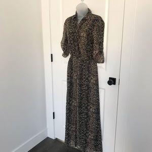 Moda International Snakeskin Maxi Dress